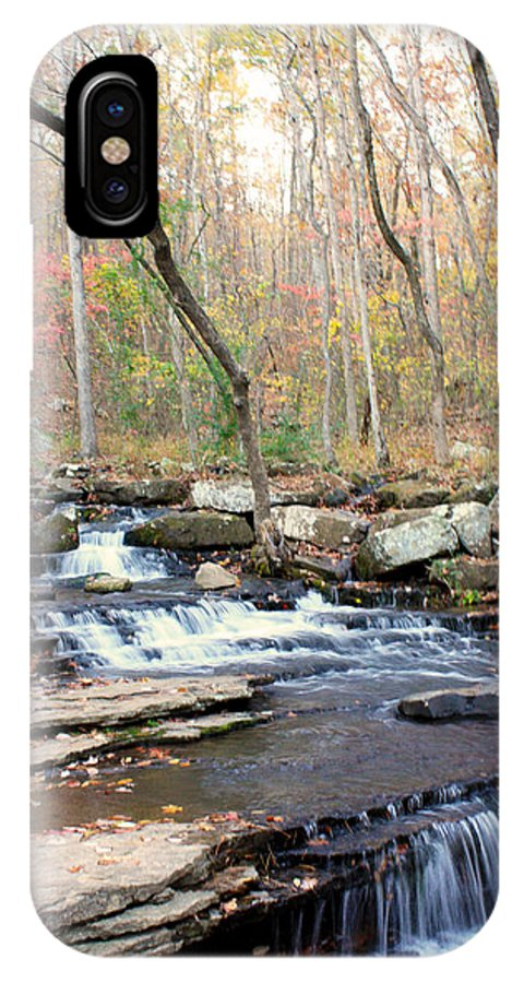 Collin's Creek IPhone X Case featuring the photograph Collin's Creek by Heather Wroten