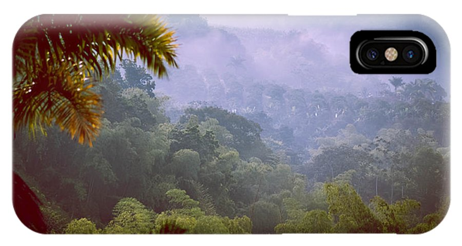 IPhone X Case featuring the photograph Colombia Forrest by Peak Photography by Clint Easley