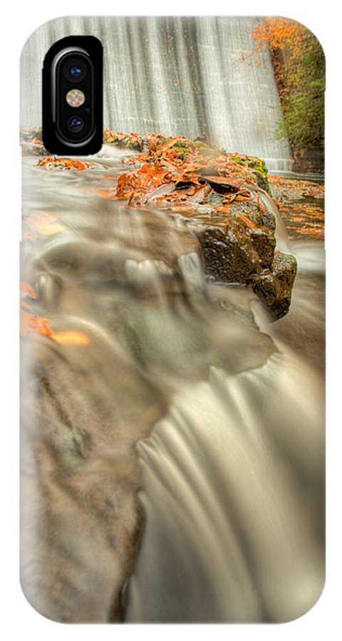 Fall Leaves IPhone X Case featuring the photograph Color Of Autumn by John Magyar Photography