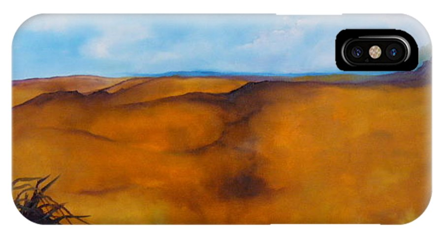 Lyle IPhone X Case featuring the painting Colorado Autumn by Lord Frederick Lyle Morris - Disabled Veteran