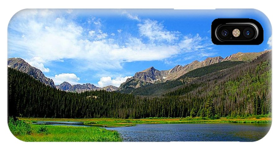 Colorado IPhone X Case featuring the photograph Colorado Lake by Danielle Marie
