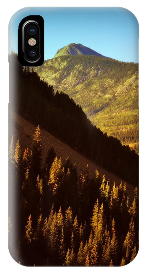 Mountains IPhone X Case featuring the photograph Colorado Number Seven by Holly Storz