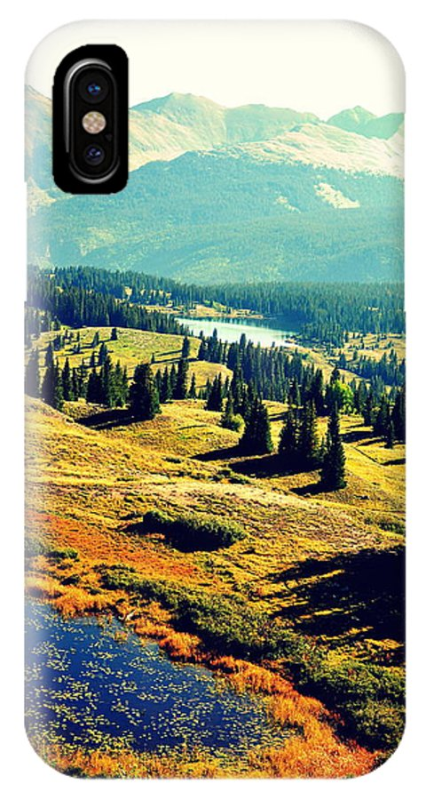 Mountains IPhone X Case featuring the photograph Colorado Number Two by Holly Storz