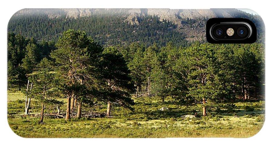 Colorado IPhone X Case featuring the photograph Colorado Outdoors by Thomas Ebben