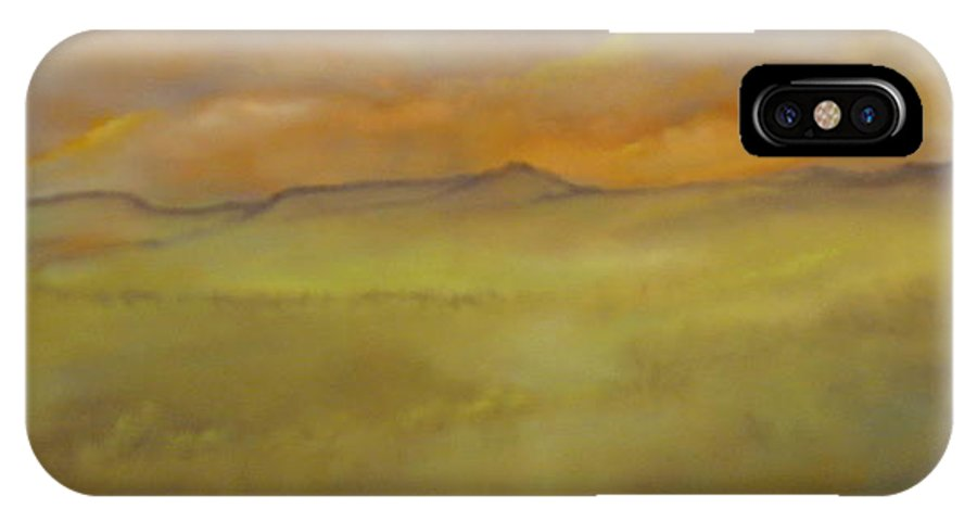Von Thrauthemburg IPhone X Case featuring the painting Colorado Summer by Lord Frederick Lyle Morris - Disabled Veteran