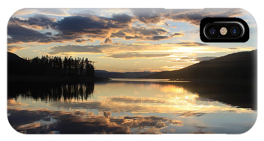 Colorado IPhone X Case featuring the photograph Colorado Sunset by Chris Thomas