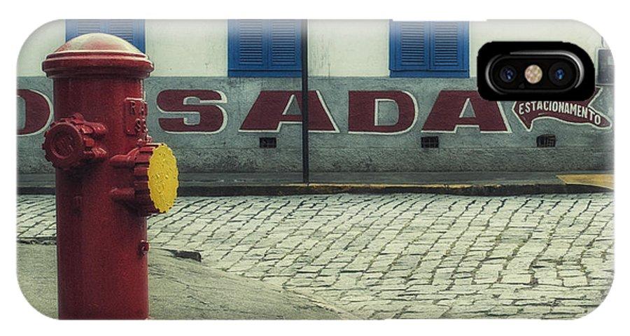 Corner IPhone X Case featuring the photograph Colorful Corner by Santiago Tomas Gutiez