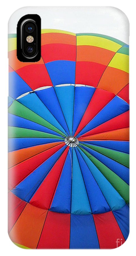 Hot Air Balloons IPhone X Case featuring the photograph Colorful by Jamie Smith