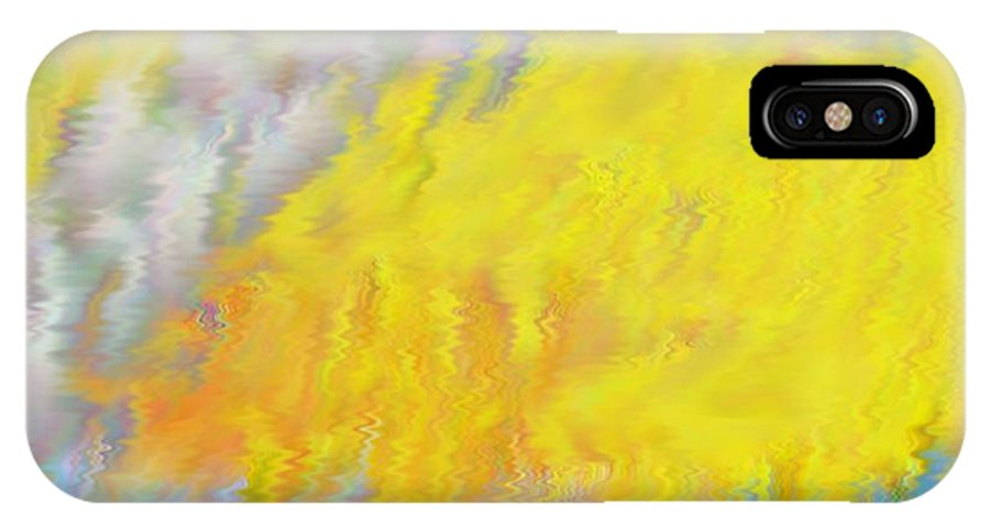 Colors IPhone X Case featuring the digital art Colors Of Autumn by Dr Loifer Vladimir