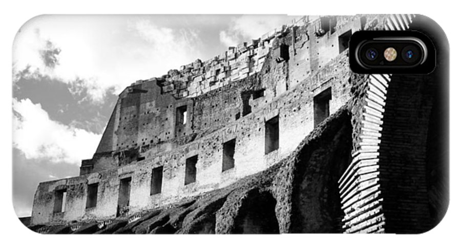 Amphitheater IPhone X Case featuring the photograph Colosseo by Raul Belles Tena