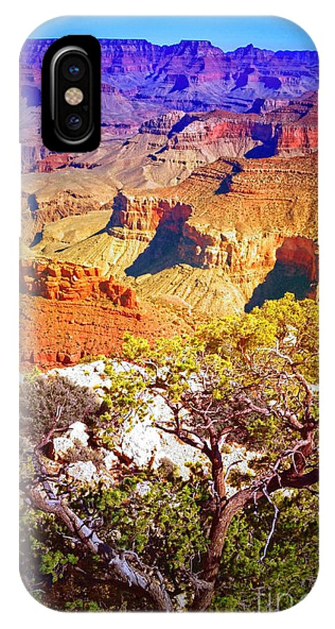 Layers IPhone X Case featuring the photograph Colours Within The Canyon by Tara Turner