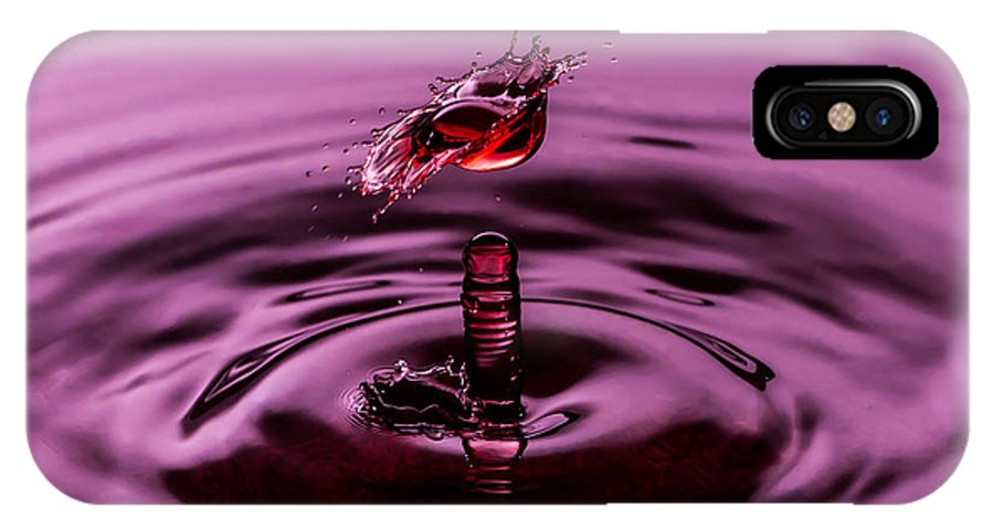 Water IPhone X Case featuring the photograph Coming Alive by Anthony Sacco