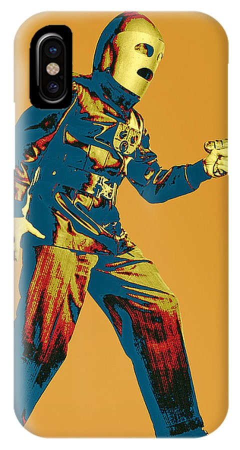 Pop Art IPhone X Case featuring the mixed media Commando Cody 1 by Dominic Piperata