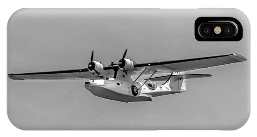 Canso IPhone X Case featuring the photograph Consolidated Pby-5a Canso by Urbanmoon Photography