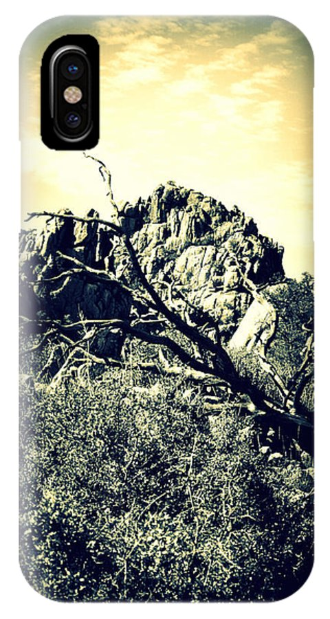 Rocks IPhone X Case featuring the photograph Constellation Number One by Holly Storz