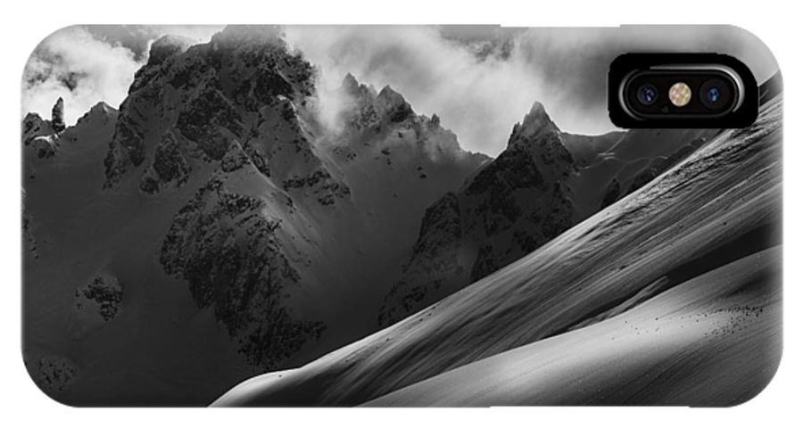 Mountains IPhone X / XS Case featuring the photograph Slope by Adrian Popan