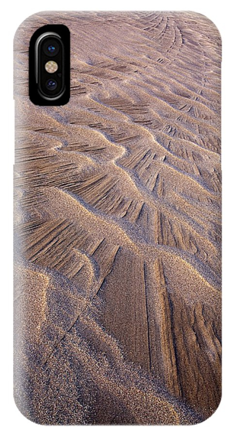 Convergence IPhone X / XS Case featuring the photograph Convergence by Morris McClung