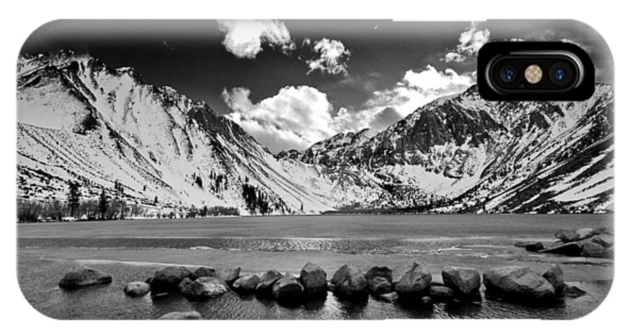 Lake IPhone X Case featuring the photograph Convict Lake by Cat Connor