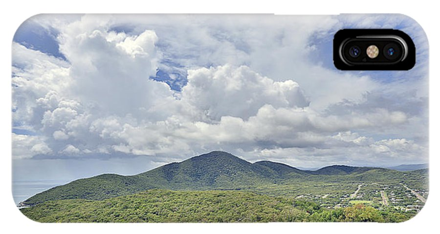 Cooktown IPhone X Case featuring the photograph Cooktown Skies by Peter Dore