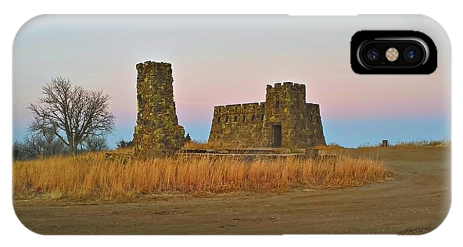 Castle IPhone X Case featuring the photograph Coronado Heights Castle by Sam Laing