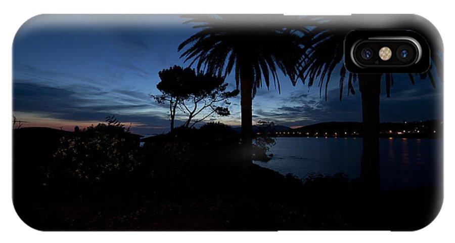 Ajaccio IPhone X Case featuring the photograph Corsican Sundown by Roland Bouvier