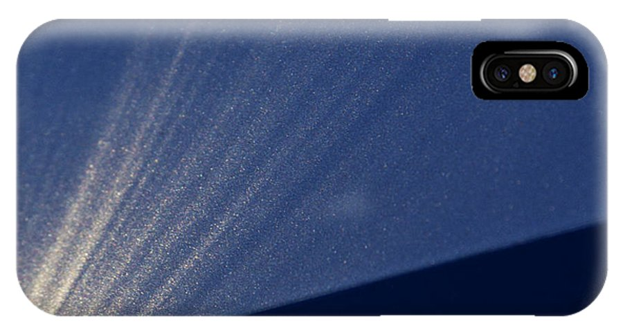 Starburst IPhone X Case featuring the photograph Event Horizon by Guy Shultz