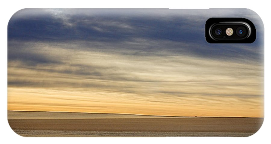 Colorful IPhone X Case featuring the photograph Country Morning Sky by James BO Insogna