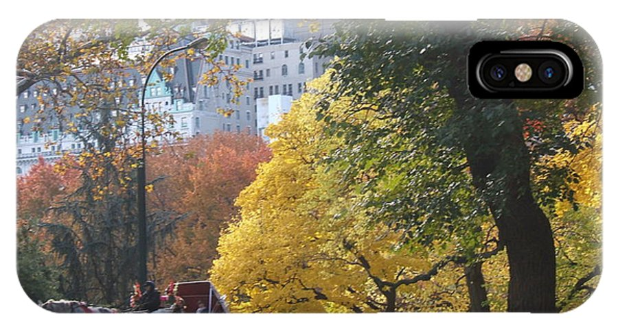 central Park IPhone Case featuring the photograph Country Ride In The City by Barbara McDevitt
