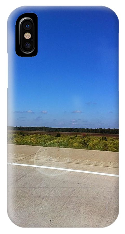 Country IPhone X Case featuring the photograph Country Side by Melissa Driver