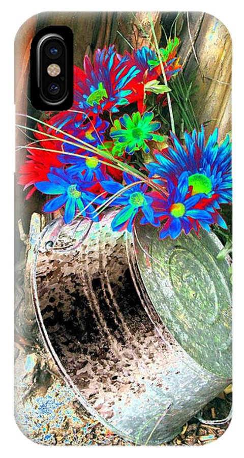 Flower IPhone X Case featuring the photograph Country Summer - Photopower 1515 by Pamela Critchlow