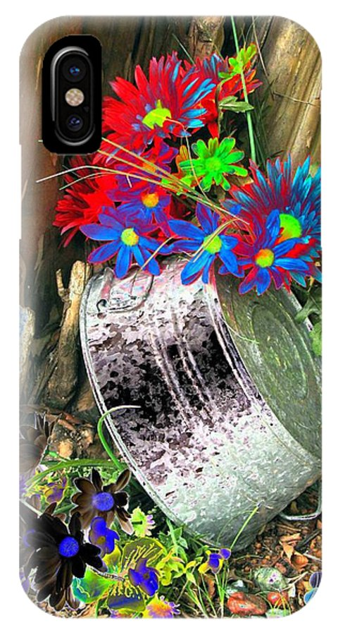 Flower IPhone X Case featuring the photograph Country Summer - Photopower 1517 by Pamela Critchlow