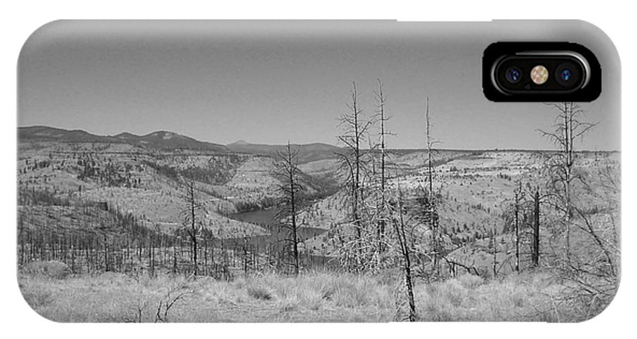 Countryside IPhone X Case featuring the photograph Countryside 2 by Heather L Wright