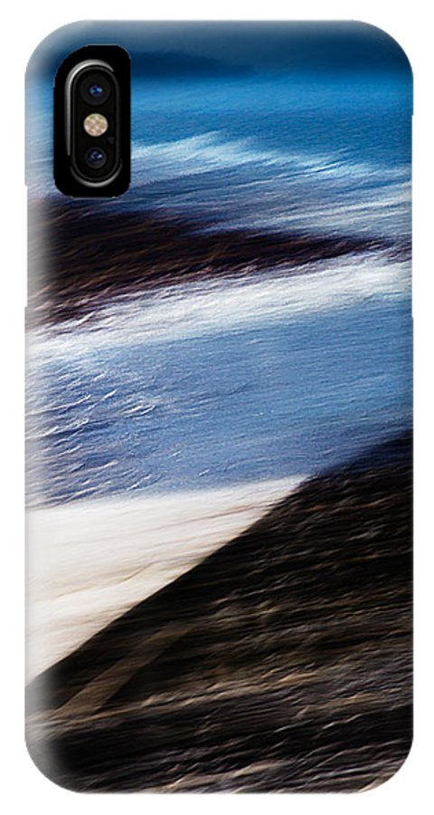 Cornwall IPhone X Case featuring the digital art Cove by Kevin Marston