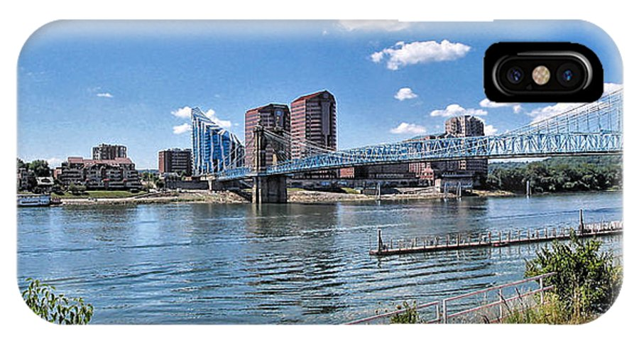 Covington IPhone X Case featuring the photograph Covington Kentucky by C H Apperson