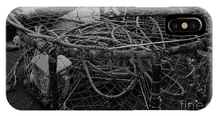 Crab Pot IPhone X Case featuring the photograph Crab Pot by Chalet Roome-Rigdon