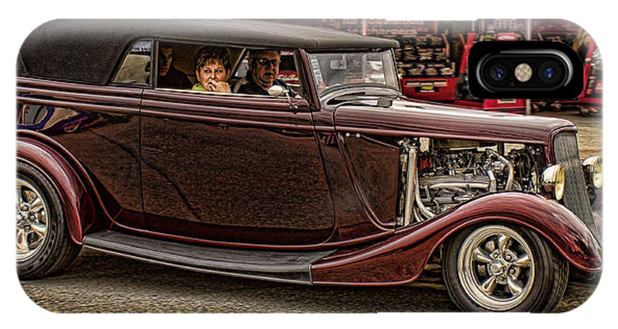 Hot Rods Posters IPhone X Case featuring the photograph Cruz'n by Ron Roberts