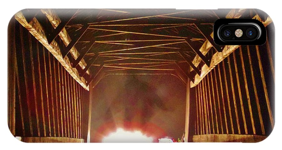 Cry Baby Bridge IPhone X Case featuring the photograph Cry Baby Bridge by Greg Kear