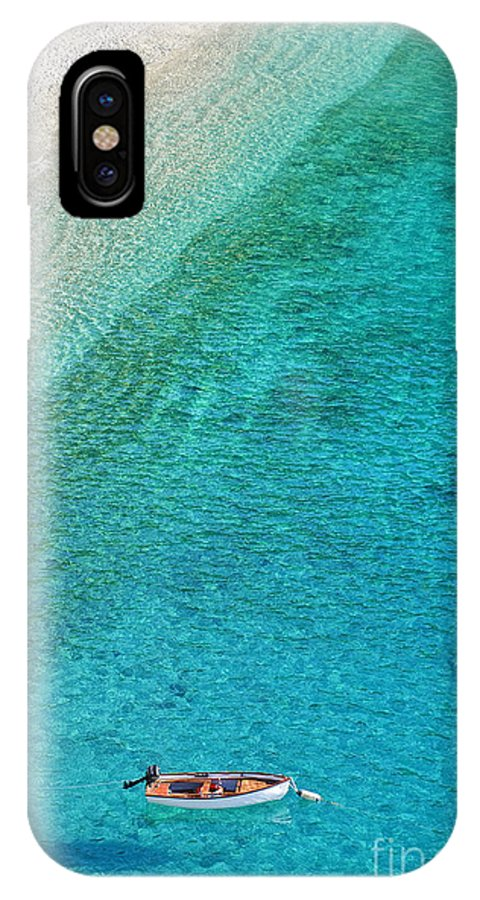 Italy IPhone X Case featuring the photograph Crystal Clear by Paul and Helen Woodford