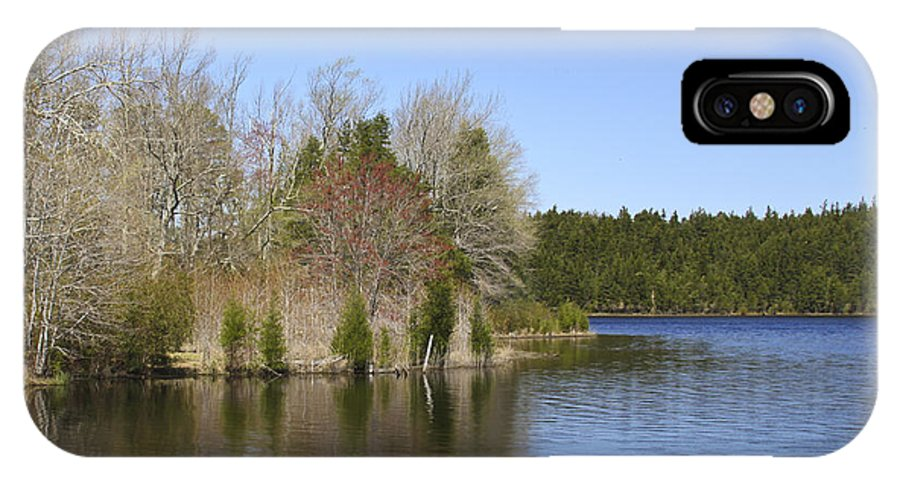 Lake IPhone X Case featuring the photograph Crystal Lake by Patrick Meek