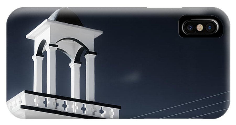 Cyclades IPhone X Case featuring the photograph Cyclades Greece - Andros Island Church by Alexander Voss