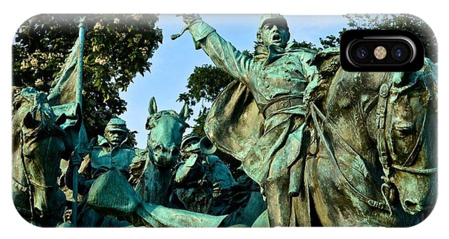 IPhone X Case featuring the photograph D C Monuments 4 by Ricardo J Ruiz de Porras