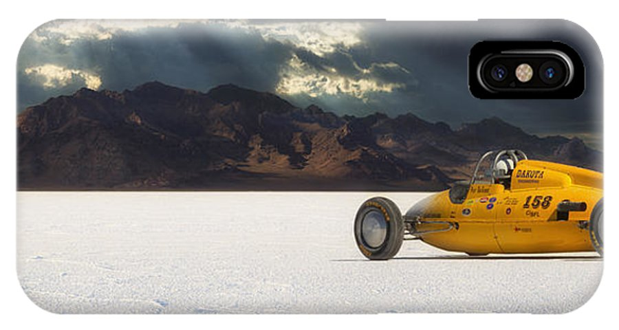 Bonneville IPhone X Case featuring the photograph Dakota 158 by Keith Berr