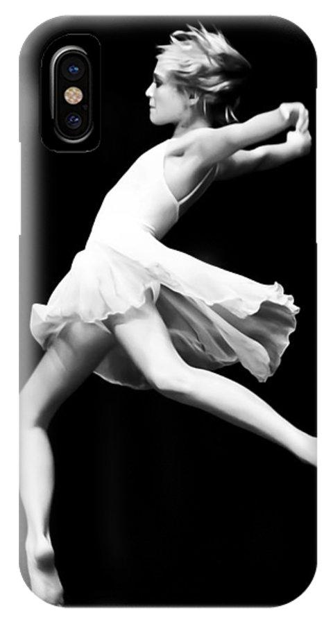 Dance IPhone X Case featuring the photograph Dance by Nicholas Evans