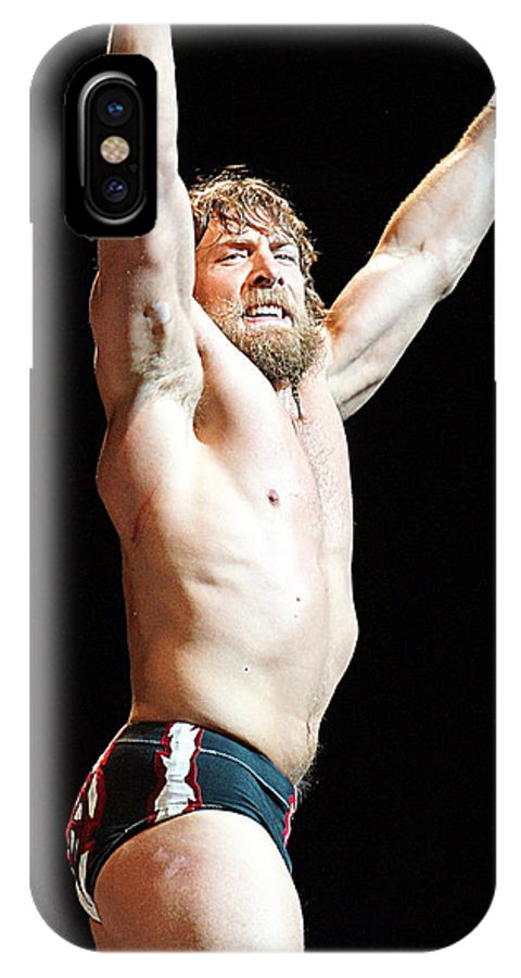Daniel Bryan IPhone X Case featuring the photograph Daniel Bryan by Paul Wilford