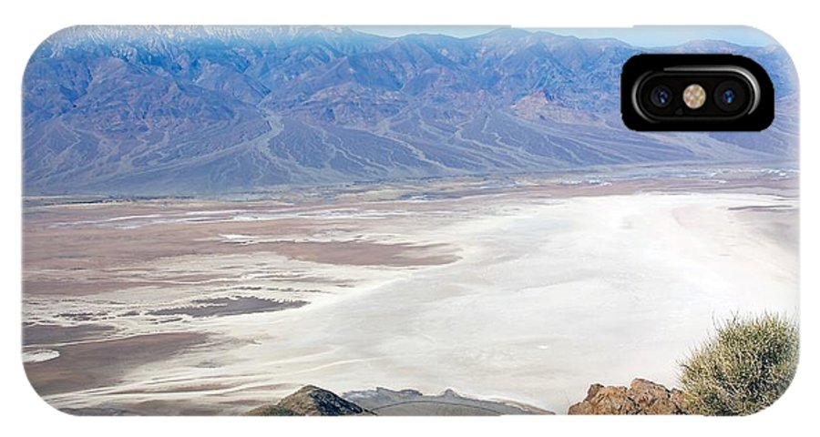 Death Valley IPhone X Case featuring the photograph Dante's View #3 by Stuart Litoff