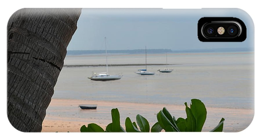 Darwin IPhone X Case featuring the photograph Fannie Bay 1.1 by Cheryl Miller