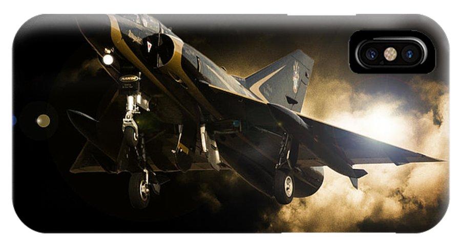 Dassault Mirage Iii IPhone X Case featuring the photograph Dassault Beauty by Paul Job