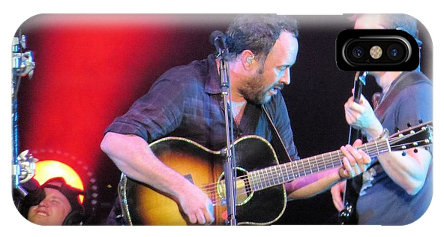 Dave Matthews IPhone X Case featuring the photograph Dave And Stefan Jam by Aaron Martens