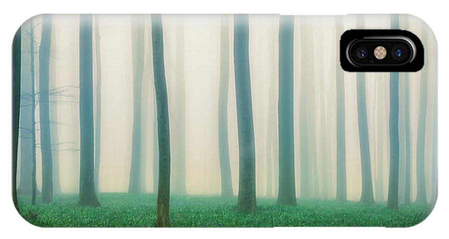 Forest IPhone X Case featuring the photograph Daydreaming Of Bluebells by Adrian Popan