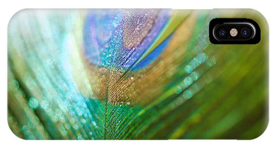 Colour IPhone X Case featuring the photograph Dazzling Light by Lisa Knechtel
